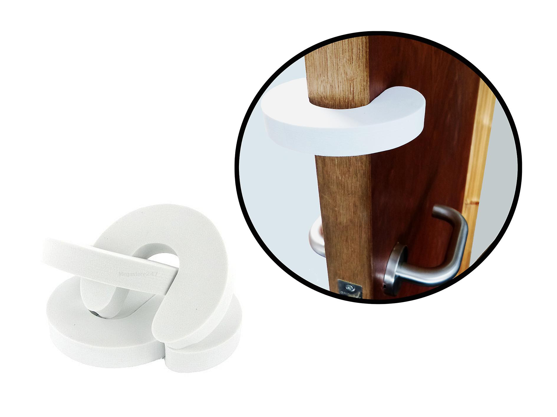 Hyfive Baby Safety Door Guard & Finger Protector Stoppers Jammer 4 Pieces