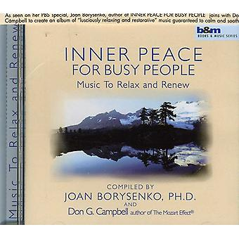 Joan Borysenko - Inner Peace for Busy People: Music to Relax and Renew [CD] USA import