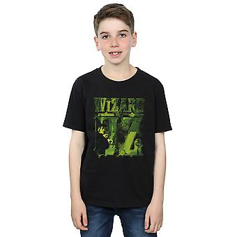 The Wizard Of Oz Boys Wicked Witch Logo T-Shirt