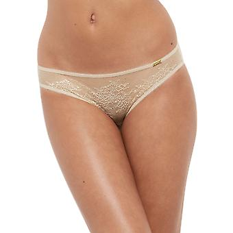 Gossard 13006 Women's Glossies Lace Nude Panty Thong