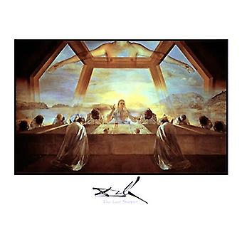 Last Supper Poster Print by Salvador Dali (28 x 22)