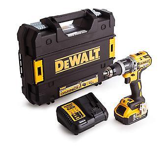 DeWALT DCD796P1-GB 18V borstlös G2 Hammer Drill Driver - 5.0Ah