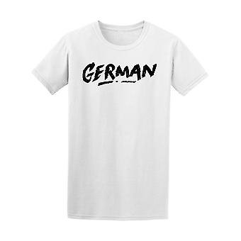 Tyska i borsten stil Tee mäns-bild av Shutterstock