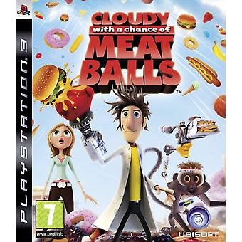 Cloudy With A Chance Of Meatballs (PS3) - New