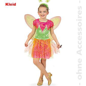 Elfe Kinder Fee Kostüm Zauberfee Blumenmädchen Kinderkostüm