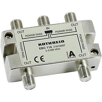 Kathrein EBC 114 SAT Splitter 4-Wege 5 - 2400 MHz
