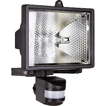 ES42 Outdoor floodlight (+ motion detector) HV halogen 500 W R7s Black