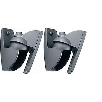 Speaker wall mount Tiltable, Swivelling Distance to wall (max.): 3 cm 1 Pair Vogel´s VLB 500 Black