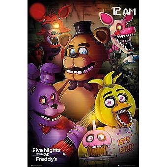 Five Nights At FreddyÉs Poster Charaktere