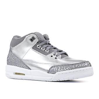 Air Jordan 3 Retro-Womens Hc 'Chrome' - Aa1243-020 - Schuhe