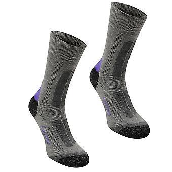 Karrimor Womens Ladies Trek Socks Footwear Accessories 2 Pack