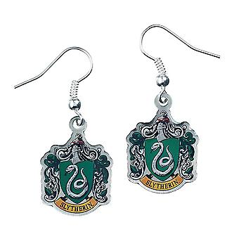 Harry Potter Silver Plated Slytherin Earrings