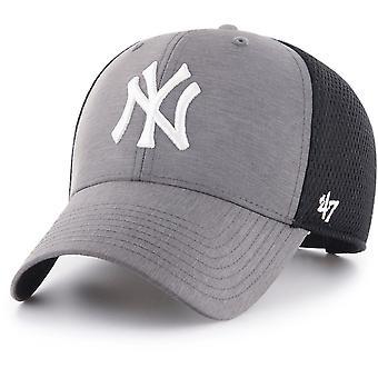47 Brand Trucker Cap - GRIM New York Yankees charcoal