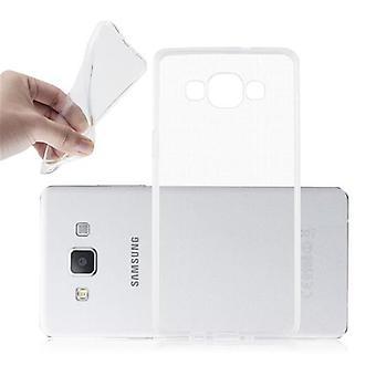 Cadorabo Case voor Samsung Galaxy A5 2015 gevaldekking-mobiele telefoon geval gemaakt van flexibele TPU silicone-silicone geval beschermende case ultra slanke zachte terug Cover Case bumper