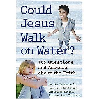 Kunde Jesus promenad på vatten?: 164 frågor och svar om tro