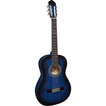 MSA Musikinstrumente C23 klassisk gitarr 4/4 blå
