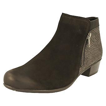Damer Remonte ankel støvler D3579