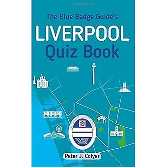 Blue Badge-opas Liverpool tietovisa kirjan