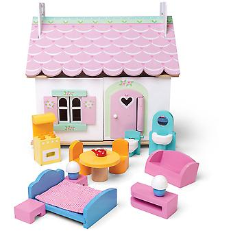 Le Toy Van Doll House Lily Cottage