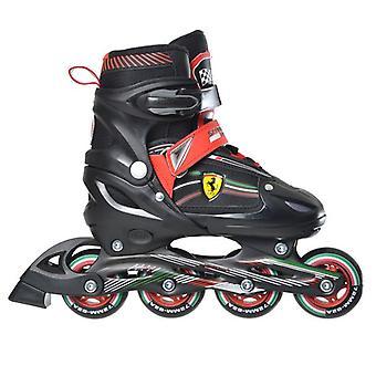 Ferrari Kinder justerbar inline Skate