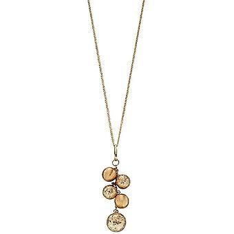 Elements Gold Bead Pendant - Gold
