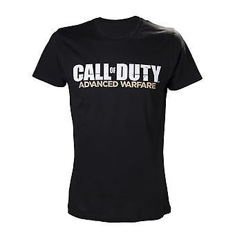 CALL OF DUTY Advanced Warfare Large T-Shirt with Main Logo Black (TS25LSAWA-L)