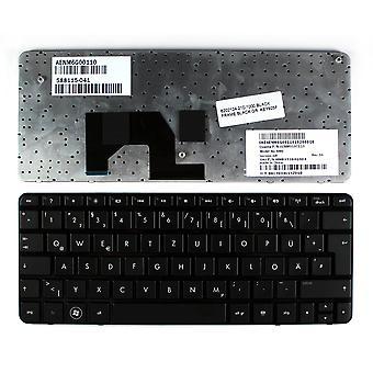 HP Mini 210-1020SP Black Frame Black German Layout Replacement Laptop Keyboard