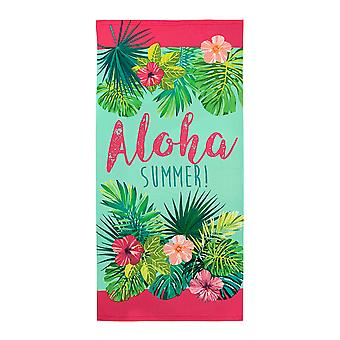 Alfresco Printed Beach Towel, Aloha