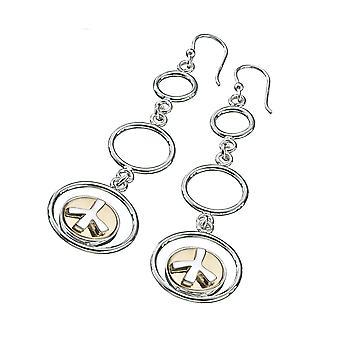 KAMELEON JewelPop 3 Hoop Sterling Silver Earrings KE37