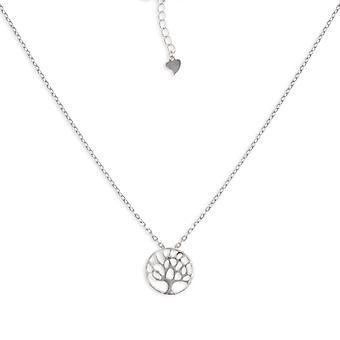 Rhodié Tree Of Life Silver Necklace