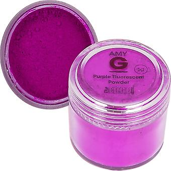 The Edge Nails Amy G - Fluorescent Nail Powders - 5g Purple (3003005)