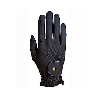 Roeckl Roeck-grip Junior Childrens Horse Riding Gloves - Black