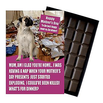 Bullmastiff Owner Dog Lover Mother?s Day Gift Chocolate Present For Mum Novelty