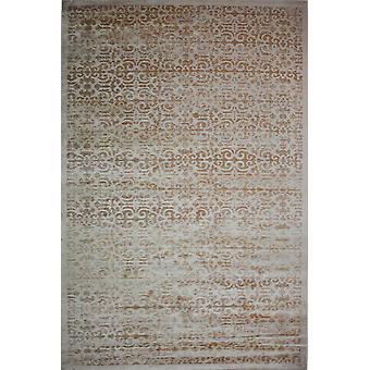 Pierre Cardin design matta i akryl Grädde/Orange