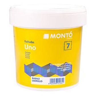 Monto 黒い 1 つを滑らかにファサード (DIY、塗装)