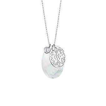 Elli 0110990412_70-kedja med hängsmycke för kvinnor-silver Sterling 925-700 mm