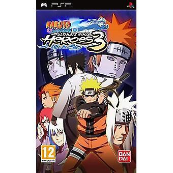 Naruto Shippuden Ultimate Ninja Heroes 3 (Sony PSP) - Nouveau