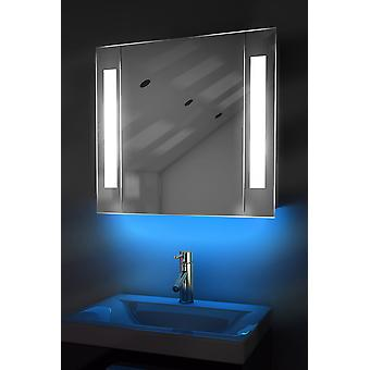 Ambient Mirror Cabinet With Sensor & Internal Shaver K17W