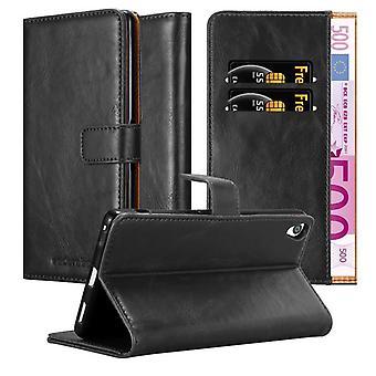 Cadorabo Hülle für Sony Xperia XA Ultra hülle case cover - Handyhülle mit Magnetverschluss, Standfunktion und Kartenfach – Case Cover Schutzhülle Etui Tasche Book Klapp Style