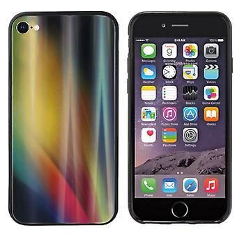 BackCover Aurora lasi Apple iPhone SE 2020 - 8 - 7 Keltainen