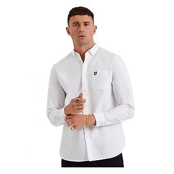 Lyle & Scott ls Oxford overhemd wit