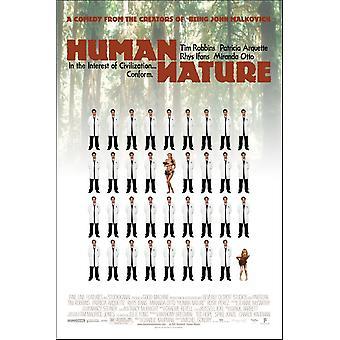 Human Nature (2001) Poster originale del cinema
