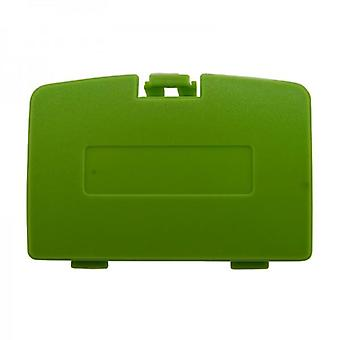 Replacement battery cover door for nintendo game boy color - lime green