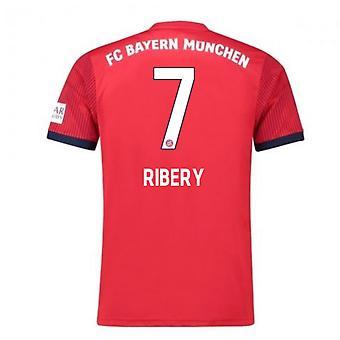 2018-2019 Bayern Munich Adidas Home Football Shirt (Ribery 7)