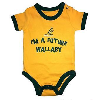 Australia Rugby Wallabies vauva Body | Keltainen | 2019/20 kausi