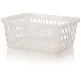 Wham Storage Pack Of 2 - Large Plastic Handy Tidy Baskets