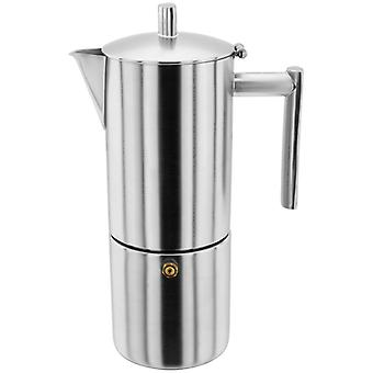 Stellar Coffee, 6 Cup Matt Espresso Maker, 400ml