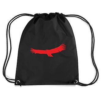 Black backpack fun1736 hawk bird birds animal animals