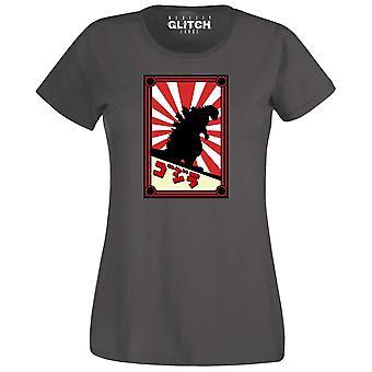 Vrouwen ' s Japanse monster t-shirt