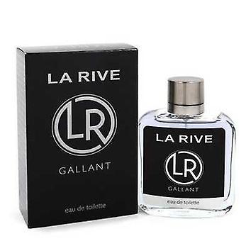 La Rive Gallant door La Rive Eau de Toilette Spray 3,3 oz (mannen) V728-548392